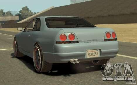 Nissan Skyline GT-R V-Spec 1997 für GTA 4 linke Ansicht