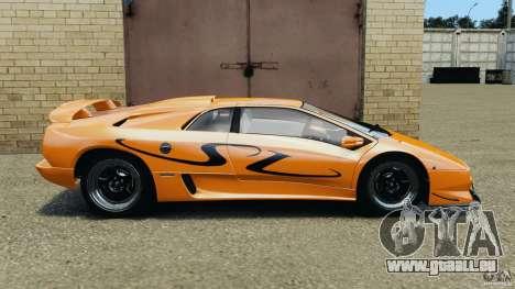 Lamborghini Diablo SV 1997 v4.0 [EPM] pour GTA 4 est une gauche