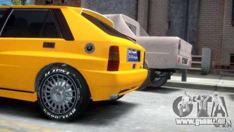 Lancia Delta HF Integrale pour GTA 4 Vue arrière de la gauche
