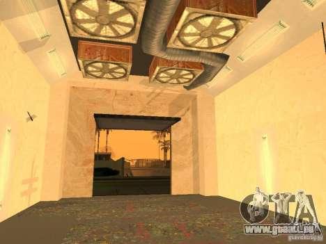 New PaynSpay: West Coast Customs pour GTA San Andreas quatrième écran
