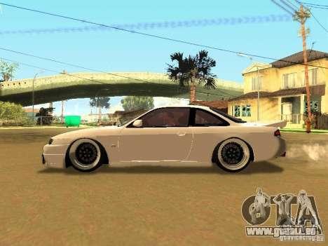 Nissan 200SX JDM pour GTA San Andreas vue intérieure