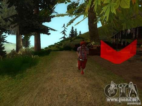 Crazy Clown für GTA San Andreas zweiten Screenshot