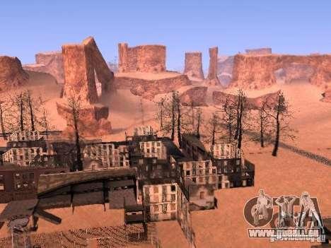 Tchernobyl MOD v1 pour GTA San Andreas quatrième écran