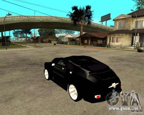 GAZ M20 (gagner) + tuning pour GTA San Andreas laissé vue