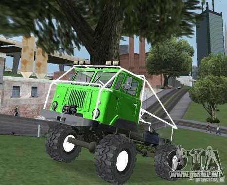 GAZ 66 für GTA San Andreas