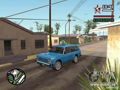 ENBSeries pour GForce 5200 FX v2.0 pour GTA San Andreas troisième écran