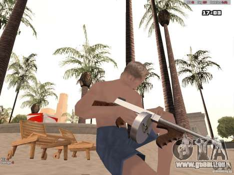Woody Weapons Pack für GTA San Andreas dritten Screenshot