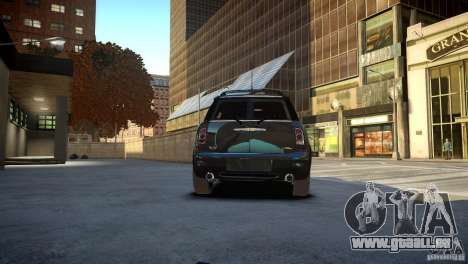 Mini Cooper Clubman pour GTA 4 Vue arrière de la gauche