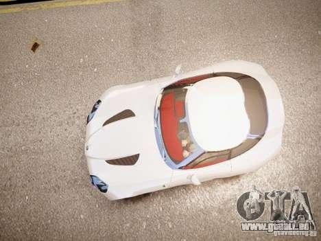 Alfa Romeo TZ3 Stradale Zagato für GTA 4 Rückansicht