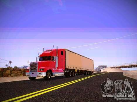 Freightliner FLD 120 pour GTA San Andreas laissé vue