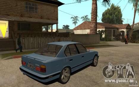 BMW E34 535i 1994 pour GTA San Andreas vue de droite