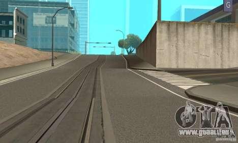 New Streets v2 pour GTA San Andreas deuxième écran