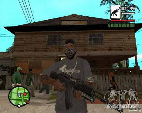 AK47 with GP-30 für GTA San Andreas