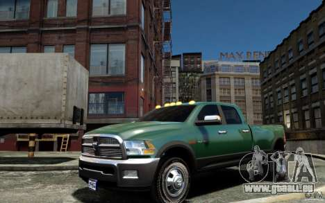 Dodge Ram 3500 Stock Final für GTA 4 linke Ansicht