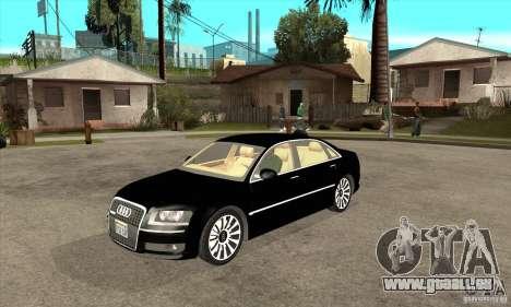 Audi A8 de transporteur 3 pour GTA San Andreas