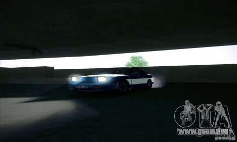 Nissan 240SX 1990 pour GTA San Andreas vue intérieure