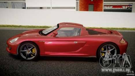Porsche Carrera GT [EPM] pour GTA 4 est une gauche