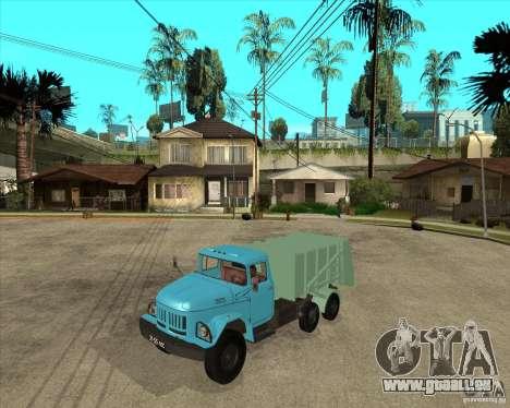 Camion à ordures ZIL 131 pour GTA San Andreas