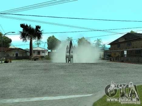 Flug ins All für GTA San Andreas zweiten Screenshot