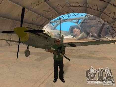 P-51 Mustang pour GTA San Andreas