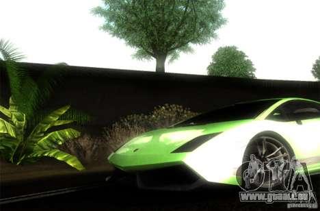 Lamborghini Gallardo LP570-4 Superleggera für GTA San Andreas rechten Ansicht