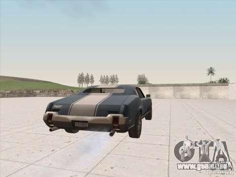 Sabre HD pour GTA San Andreas laissé vue