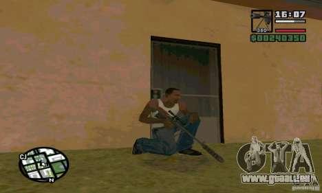 Le KSVK (IOS-98) pour GTA San Andreas quatrième écran