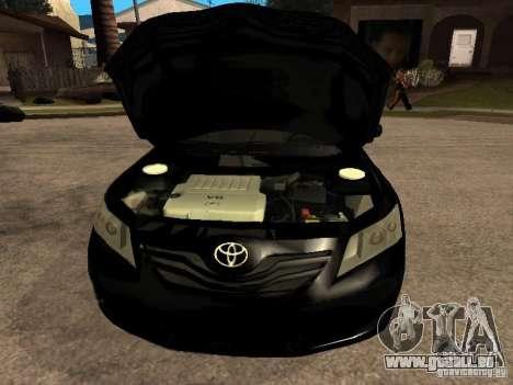 Toyota Camry 2010 pour GTA San Andreas vue de droite
