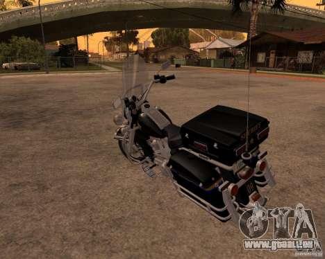 Harley Davidson Police 1997 pour GTA San Andreas vue de droite