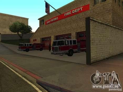 Lebendige Firehouse in SF für GTA San Andreas dritten Screenshot