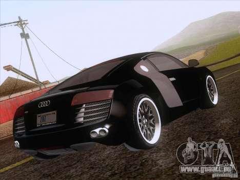 Audi R8 Hamann für GTA San Andreas Unteransicht