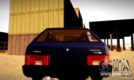VAZ 2108 v2.0 pour GTA San Andreas laissé vue