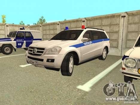 Mercedes-Benz GL500 Polizei für GTA San Andreas