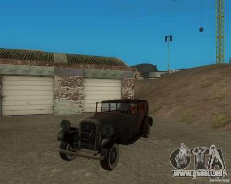 Cadillac BP für GTA San Andreas linke Ansicht