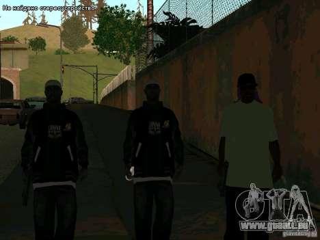 Nouveau Ballas East side Purpz pour GTA San Andreas