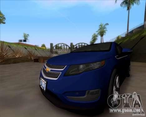 Chevrolet Volt 2012 Stock für GTA San Andreas linke Ansicht