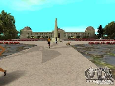 Stone Mountain pour GTA San Andreas troisième écran