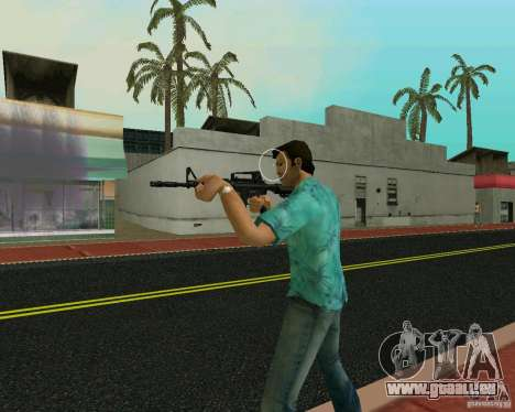 M4A1 für GTA Vice City Screenshot her