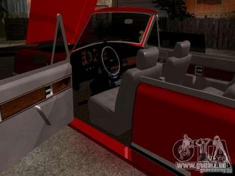 ZIL 41044 Phaeton für GTA San Andreas Rückansicht