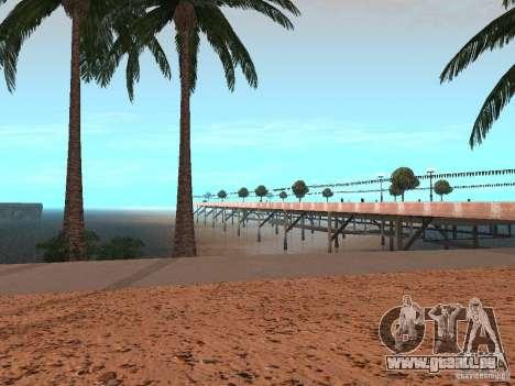HQ Beach v1.0 pour GTA San Andreas troisième écran
