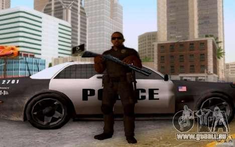 Ein Polizist aus CoD: BO2 für GTA San Andreas