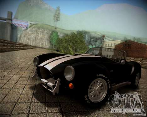 Shelby Cobra 427 Full Tunable pour GTA San Andreas