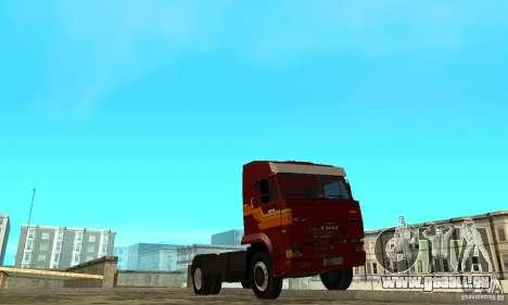 KAMAZ 5460 Haut 2 für GTA San Andreas