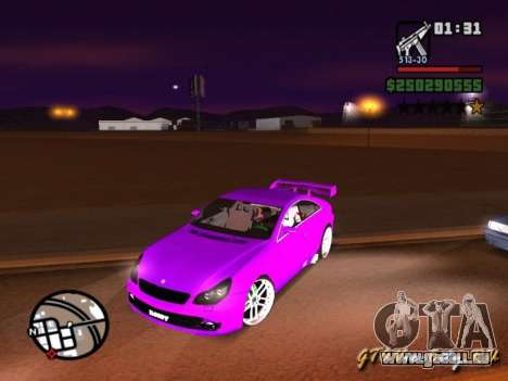 Mercedes-Benz CLS500 The GreenFairy TUNING pour GTA San Andreas