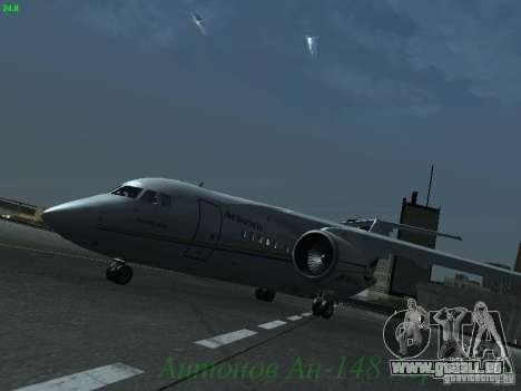 Antonow an-148 Aerosvit Ukrainian Airlines für GTA San Andreas linke Ansicht