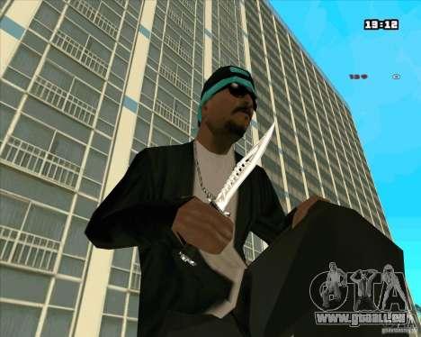 Chrome Weapon Pack pour GTA San Andreas septième écran