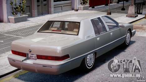 Buick Roadmaster Sedan 1996 v 2.0 für GTA 4-Motor