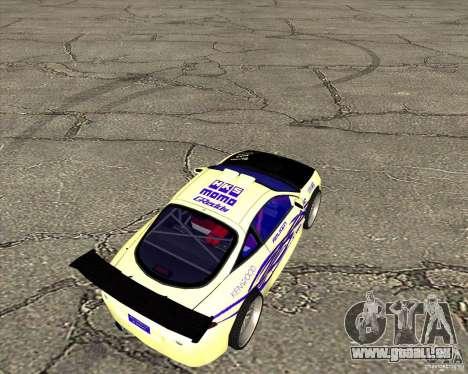 Mitsubishi Eclipse street tuning für GTA San Andreas zurück linke Ansicht