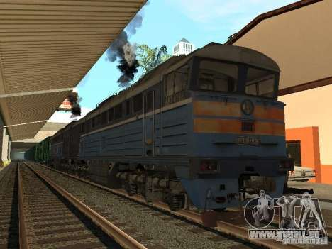 Eisenbahn-Änderung III für GTA San Andreas her Screenshot