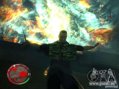Le nouvel explosif pour GTA San Andreas troisième écran